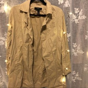 Lightweight Tan Trench